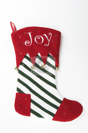 Christmas Stocking stock photo, A Christmas stocking ready to be hung by Matt Baker