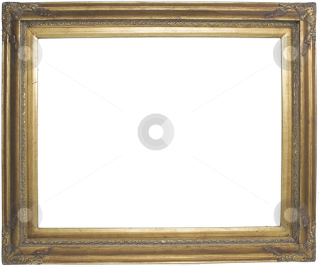 Picture Frame stock photo, A blank picture frame by Matt Baker
