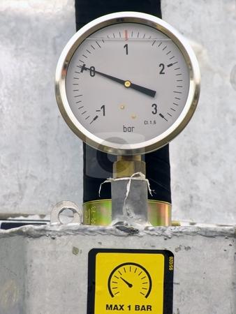 Pressure gauge stock photo, Pressure gauge by Sergej Razvodovskij