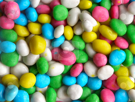 Candy background stock photo, Background from varicolored candies, which looks like pebbles by Sergej Razvodovskij