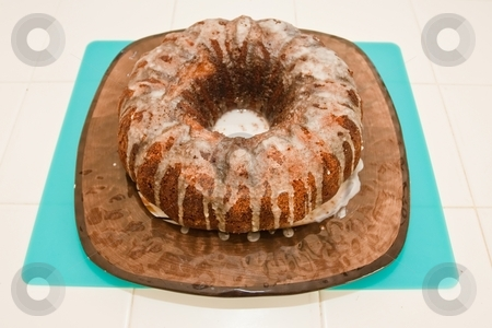 Easter Babka stock photo, It is a spongy yeast cake that is traditionally baked for Easter Sunday in Poland, Belarus, Ukraine and Western Russia. by Mariusz Jurgielewicz