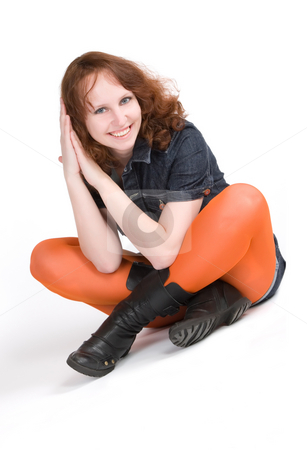 Young women stock photo,  by Andrey Butenko