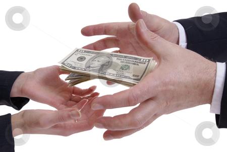 Money stock photo, Keeping money isolated on white background by Jolanta Dabrowska