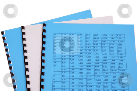 documents stock photo, Valid office documents isolated on white background by Jolanta Dabrowska