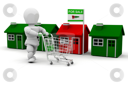 House shopping stock photo, Shopping for houses by Kirsty Pargeter