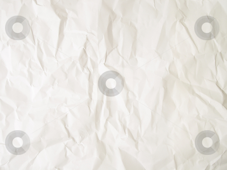 Crumpled paper background stock photo,  by Kirsty Pargeter