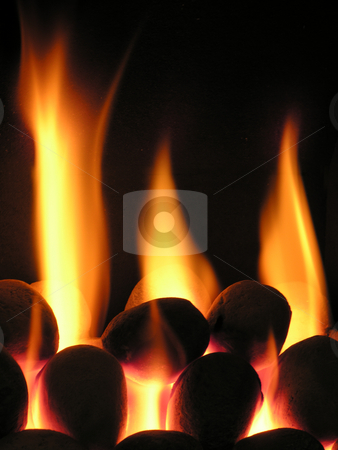 Burning Coals stock photo,  by Kirsty Pargeter