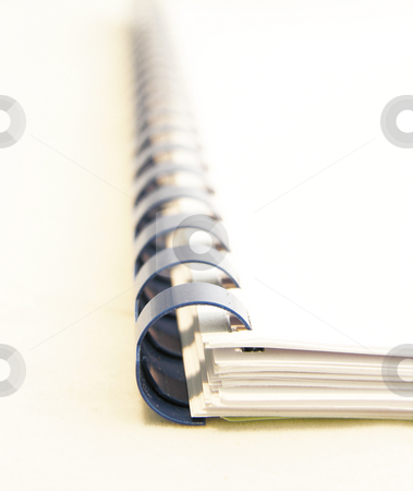 Notebook Binding stock photo,  by Kirsty Pargeter