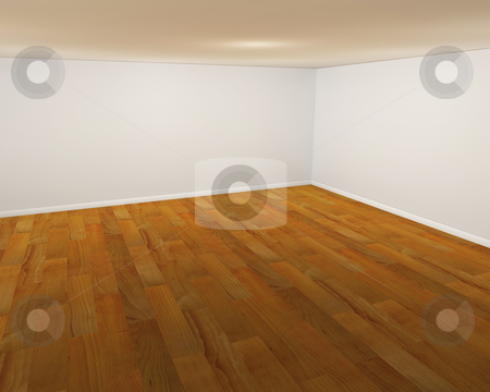 Empty room stock photo, 3D render of an empty room by Kirsty Pargeter