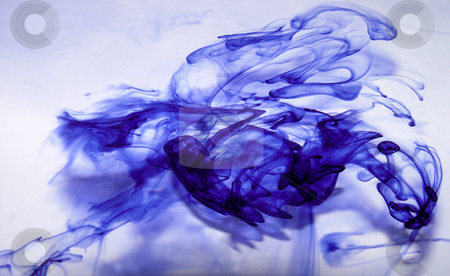 Abstract Purple Smoke stock photo,  by Kirsty Pargeter