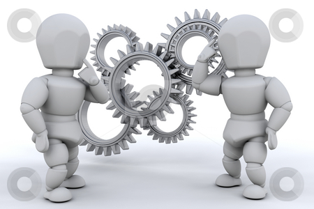 Problem solving stock photo, Working together to solve the problem by Kirsty Pargeter