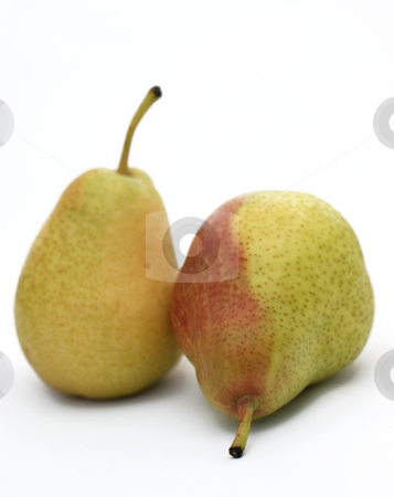 Pears  stock photo, Two pears - shallow depth of field used by Kirsty Pargeter