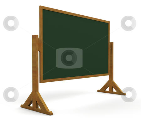 Blackboard stock photo, 3D render of a blackboard by Kirsty Pargeter