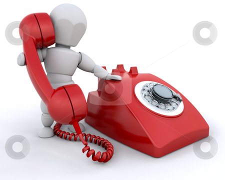 On the phone stock photo, Person talking on retro styled telephone by Kirsty Pargeter