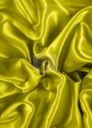 Gold satin stock photo, Abstract background of gold satin by Kirsty Pargeter