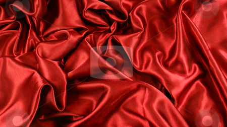 Red satin stock photo, Background of red satin by Kirsty Pargeter