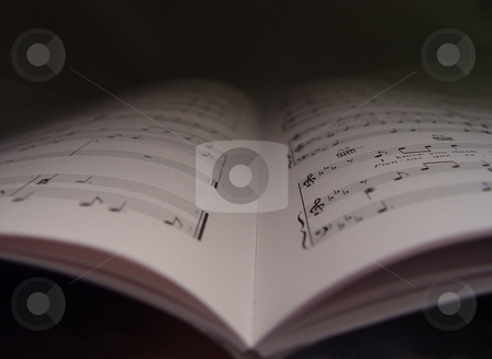 Abstract Music Notes stock photo,  by Kirsty Pargeter