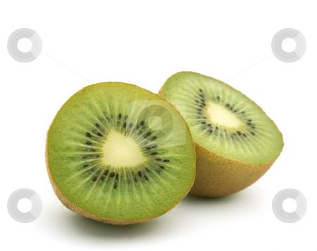 Kiwi fruit stock photo, Close up shot of kiwi fruit by Kirsty Pargeter