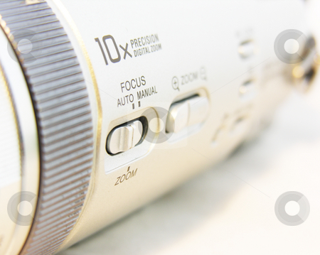 Camcorder close up stock photo,  by Kirsty Pargeter