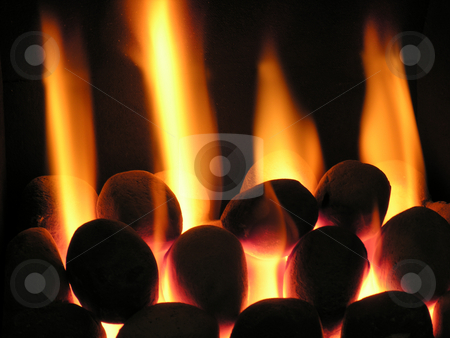 Coals on Fire stock photo,  by Kirsty Pargeter