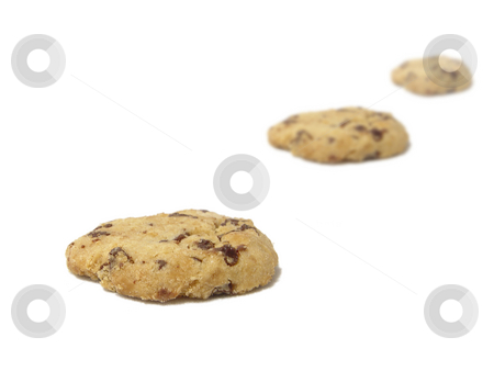Chocolate chip cookies stock photo,  by Kirsty Pargeter