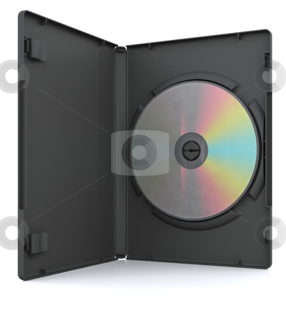 DVD in case stock photo, 3D render of a DVD in a case by Kirsty Pargeter