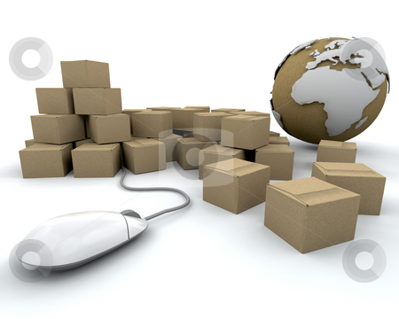Global delivery stock photo, Image depicting global delivery by Kirsty Pargeter
