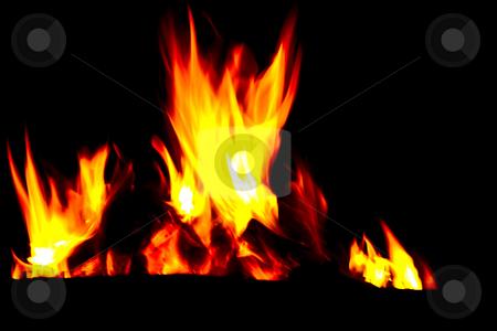 Fiery Fire stock photo,  by Carlo Grossmann