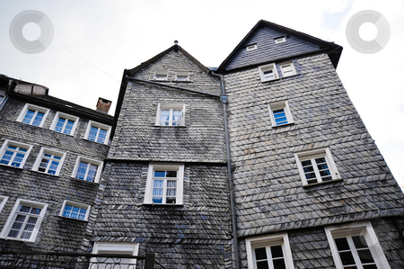 Monschau  stock photo, Building in Monschau Germany by Jaime Pharr