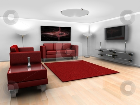 Living Room Interior stock photo,  by Kirsty Pargeter