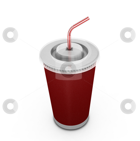 Soda drink stock photo, 3D render of a soda drink by Kirsty Pargeter