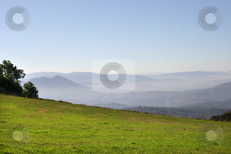 Layers stock photo, Mountain landscape in the north of portugal by Rui Vale de Sousa