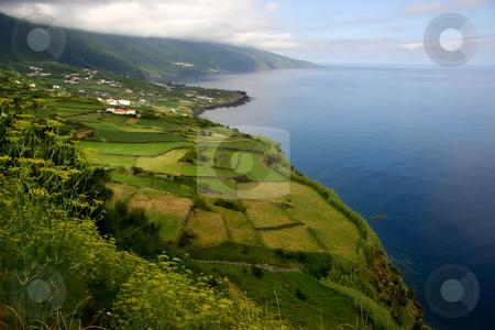 Coastal stock photo, Azores coastal view at sao miguel island by Rui Vale de Sousa
