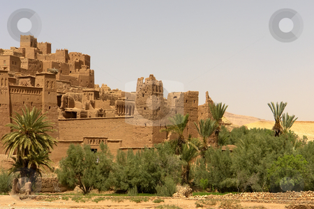 Ait benhaddou stock photo, Ancient city detail of ait benhaddou, morocco by Rui Vale de Sousa