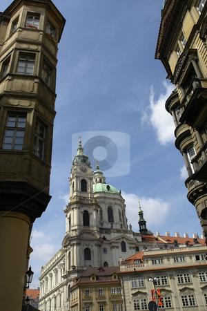 Prague stock photo, Prague buildings by Rui Vale de Sousa