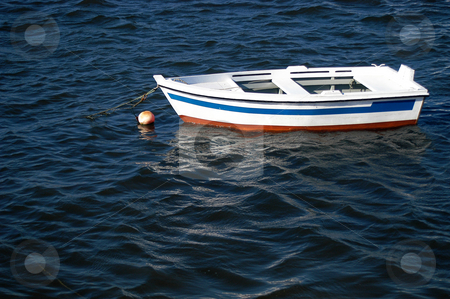Boat stock photo, Boat in the sea by Rui Vale de Sousa