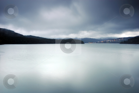 Lake stock photo, Long exposure lake, in the north of portugal by Rui Vale de Sousa
