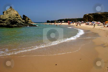 Beach stock photo, Portuguese typical beach by Rui Vale de Sousa
