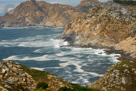 Cliff stock photo, Limpid water of the Mediterranean - coast of spain by Rui Vale de Sousa