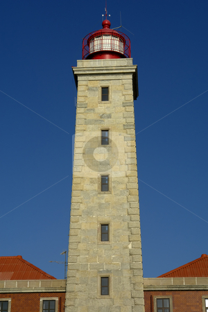 Lighthouse stock photo, Ancient portuguese lighthouse by Rui Vale de Sousa