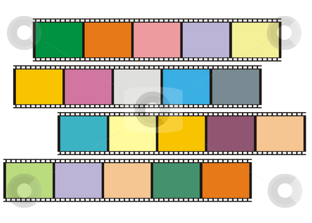 Film stock photo, Film illustration by Rui Vale de Sousa