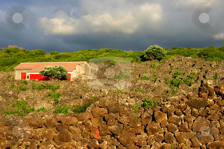 House stock photo, Azores house by Rui Vale de Sousa
