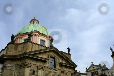 Ancient stock photo, Ancient prague building in the old town by Rui Vale de Sousa
