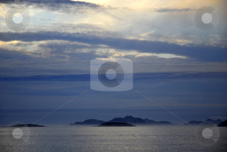 Ocean stock photo, Some islands in the north coast of spain by Rui Vale de Sousa