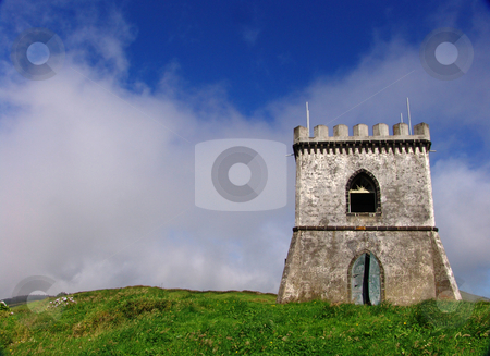 Castle stock photo, Castle in the mountain by Rui Vale de Sousa