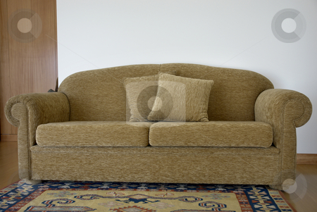 Sofa stock photo, House furniture by Rui Vale de Sousa