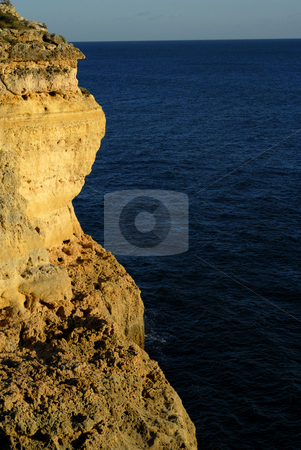 Coast stock photo, Portuguese Algarve coast, the south of the country by Rui Vale de Sousa