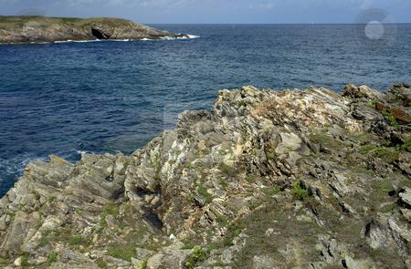 Coast stock photo, Coast bay at the algarve, the south of portugal by Rui Vale de Sousa