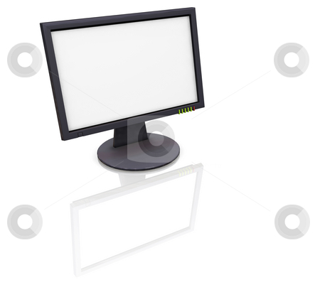 TFT screen stock photo, 3D render of a TFT screen by Kirsty Pargeter