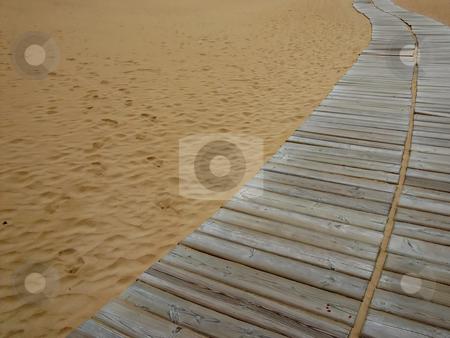 Sand stock photo, Sand path by Rui Vale de Sousa